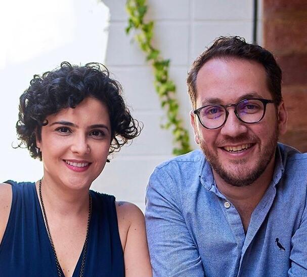 Marina Vilhena e Danilo Fedel
